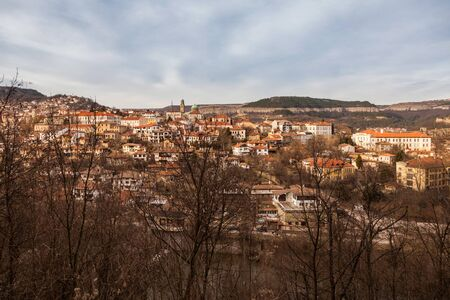 tarnovo: View from old town Veliko Tarnovo in Bulgaria