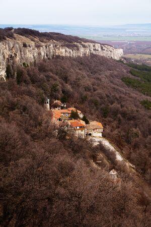 veliko: The Transfiguration Monastery near Veliko Tarnovo, Bulgaria