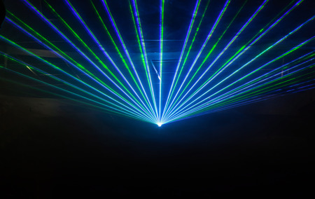 disco backdrop: Disco light show, Stage lights with laser