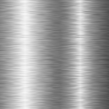brushed: brushed metal structure closeup Stock Photo