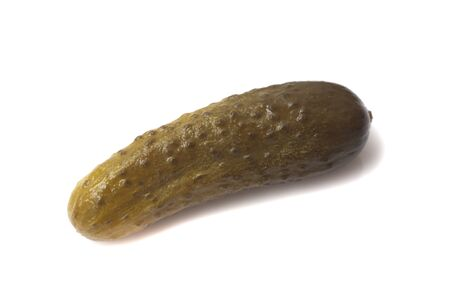 gherkins: fresh gherkins isolated on white background