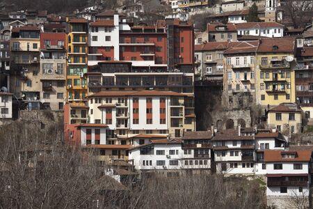 veliko tarnovo: View from town Veliko Tarnovo in Bulgaria