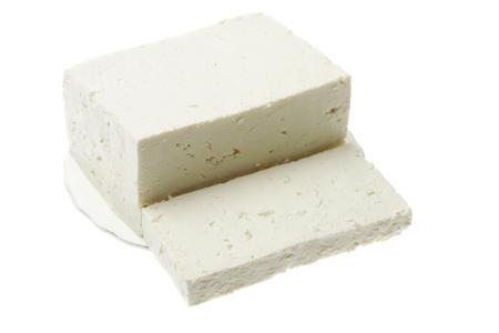 original plate: Original bulgarian cheese  into plate