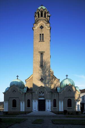 veliko: Catedral chirch in Veliko Turnovo, Bulgaria,max perspective corrected tilt lens