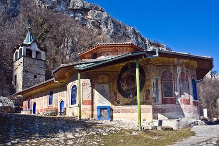 veliko: The Transfiguration Monastery built 14 century, Veliko Turnovo, Bulgaria