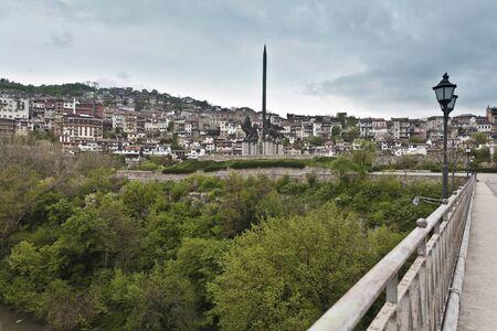 veliko: Monument Assenevtczi in Veliko Turnovo, Bulgaria