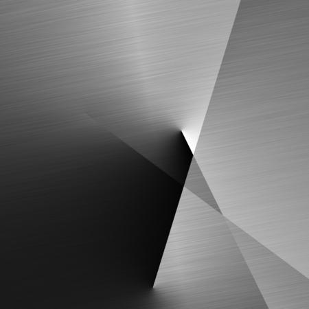 geborsteld metalen structuur close-up van lineaire