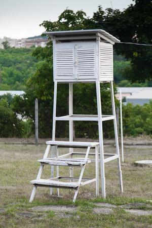 hygrometer: Weather Station  on the sky
