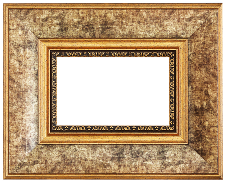 yelloow: Yelloow picture frame. Isolated path and over white background