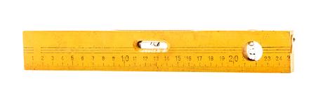 cintas metricas: nivel, blanco aislado