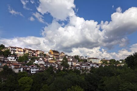 veliko tarnovo: View from old town Veliko Tarnovo in Bulgaria