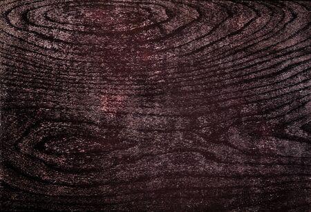 Very dark texture of black shine wood 写真素材