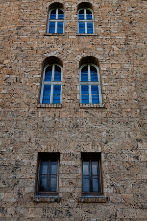 assen: The Art Gallery view from Assenevtsi in Veliko Tarnovo, Bulgaria Stock Photo