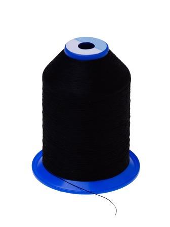 Canette de roulement noir, isolé sur fond blanc Banque d'images - 50338123