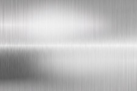 metales: metal cepillado estructura primer plano Foto de archivo