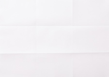 white sheet: white sheet of paper folded in nine