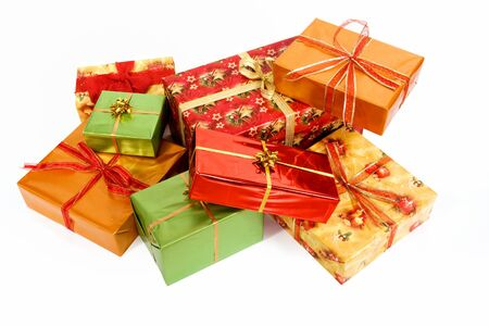 Christmas gifts  Stock Photo - 4120710