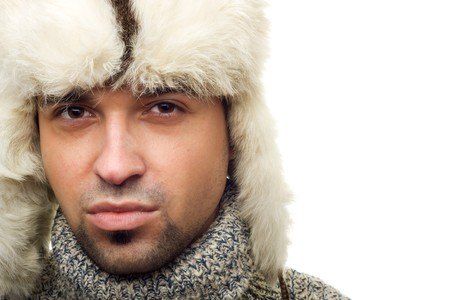 Portrait of a winter man Stock Photo - 4118766
