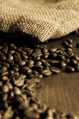 decaffeinated: Coffee bean