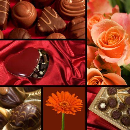 fancy sweet box: Valentine theme