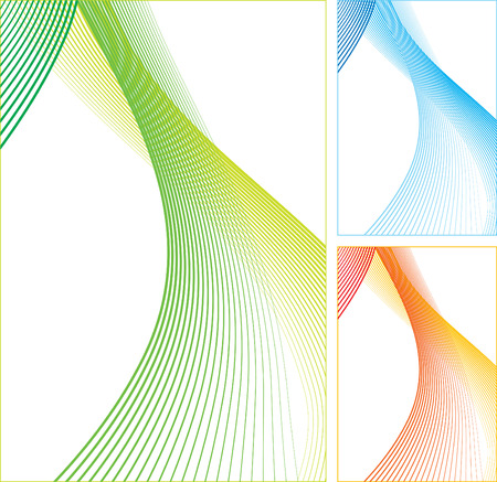 Abstract vertical color lines on white background. illustration. Illustration