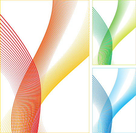 Abstract vertical lines on white background.  illustration.