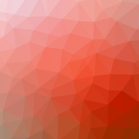 Red abstract polygonal triangle mosaic pattern background