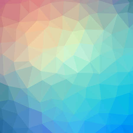 diamond background: Colorful abstract polygonal triangle mosaic pattern background Illustration