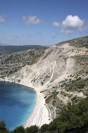cefalonia: Myrtos - most beautiful beach on Cefalonia Island