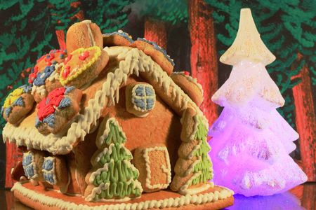 gingerbread house Stock Photo
