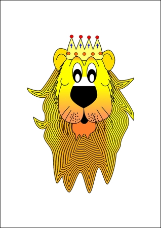 Lion-king of beasts Stock Vector - 6466664