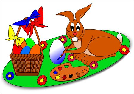 Easter bunny Stock Vector - 6526909