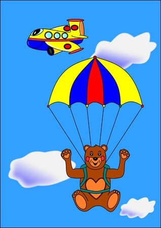 Bear paratrooper