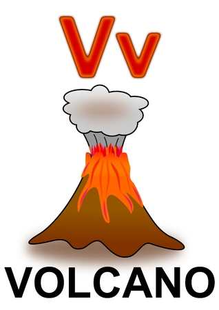 active volcano: Letter