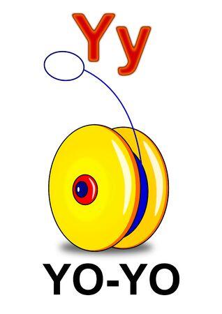 play yoyo: Letter