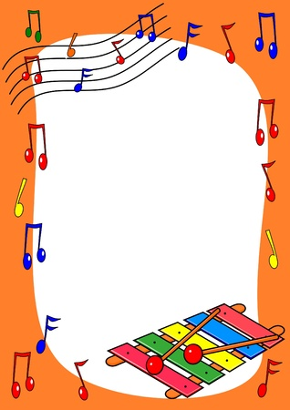 Music request in the box  Ilustracja
