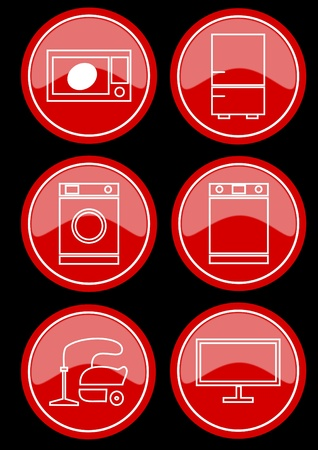 Icons Stock Vector - 11658817
