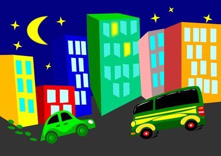 Night  city Stock Vector - 11661643