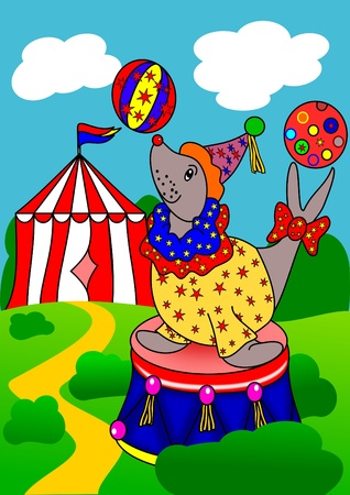 Seal the circus