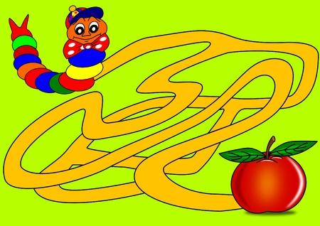 Caterpillar and Mazes Vector