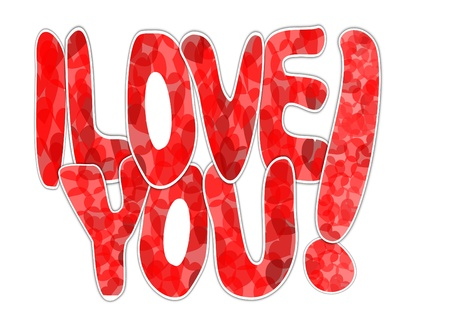 I love you Stock Vector - 12175617