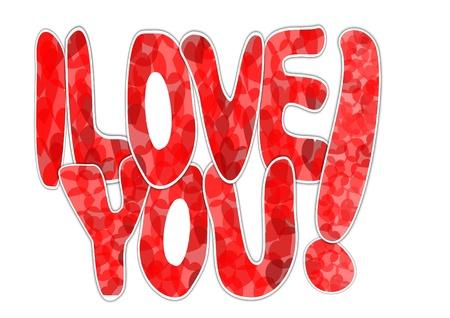 Te amo Foto de archivo - 12175617