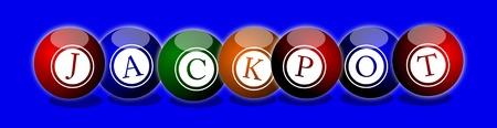 lottery win: Jackpot