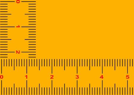 yard stick: Gauge - business card - meter