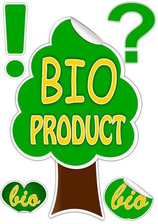Bio product Stock Vector - 12431138
