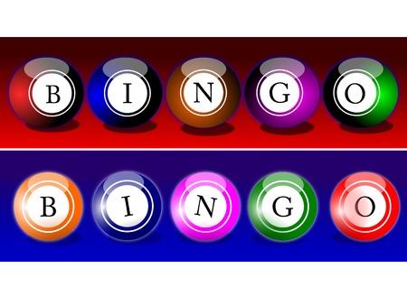 Bingo Balls Reklamní fotografie - 15890291