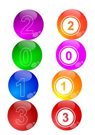 New Year 2013 Stock Vector - 16083815