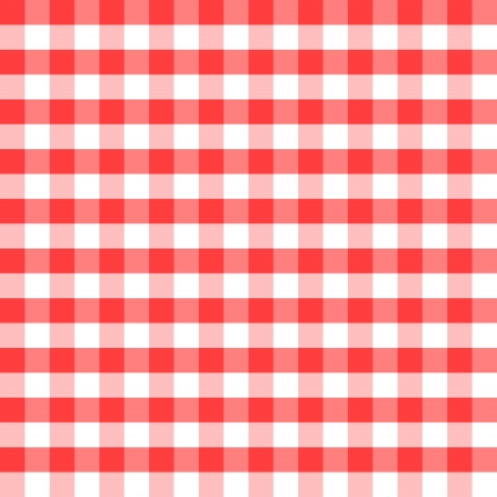 Red and white squares as the background - illustration Vector