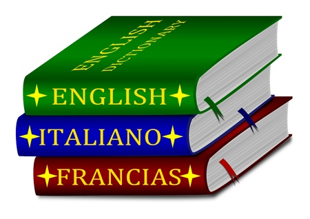 Dictionaries - English, Italian, French