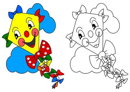 Sonrientes Flores De Colores, Tales Como Libros Para Colorear Para ...